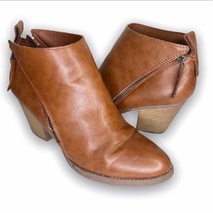 FADED GLORY | Tan ankle boots